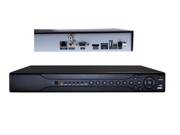 China 2 SATA 8 Channel 1080p Nvr Security System Support IVS Mobile Monitor supplier