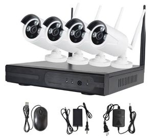 China 4CH 7WIFI Home Security Camera Systems / Nvr Surveillance System distributor