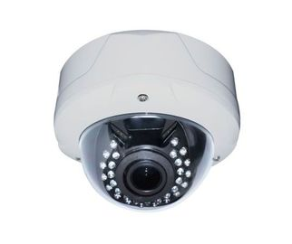 China 1080P IR Vandalproof dome IP Camera,2.8~12mm Varifocal Megapixel Lens Camera Surveillance  distributor