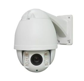 China 1080p Mini AHD ip ptz outdoor camera 4.5 Inch 10X Optical Zoom , NVP CMOS Sensor distributor
