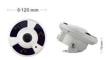 China 1080P HD 360 Degree Fisheye IP Camera with 3pcs IR Array Leds distributor