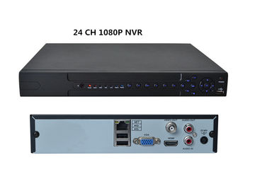 China Onvif NVR Security System 24 Ch nvr 5Mp Video Input  H 264 Decoding Cloud Technology distributor